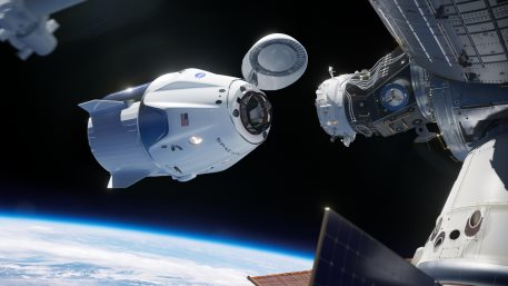 SpaceX Crew Dragon Docking to International Space Station