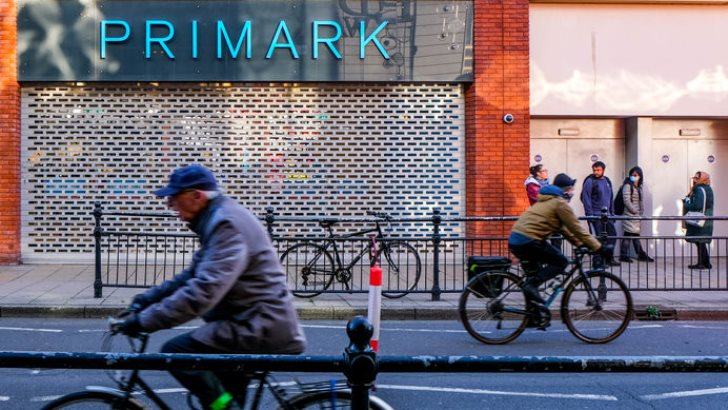 London UK, December 01 2020, Primark Discount Fashion Chain Closed Due To COVID-19 Pandemic Lockdown