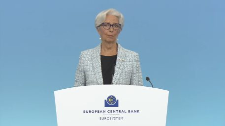 Christine Lagarde President of the ECB spoke after the June monetary policy meeting of the Governing Council
